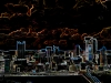 Pittsburgh skyline abstract graphic