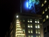 Hornes building Christmas tree lighting Downtown Pittsburgh