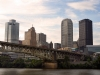 Downtown Pittsburgh from Southside Riverwalk