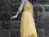 Sexy waterfall female model