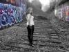 graffiti corset