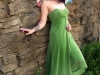 Alt model with green dress