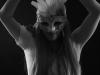hot girl in mask