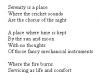 Serenity poem