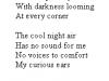 Twilight poem